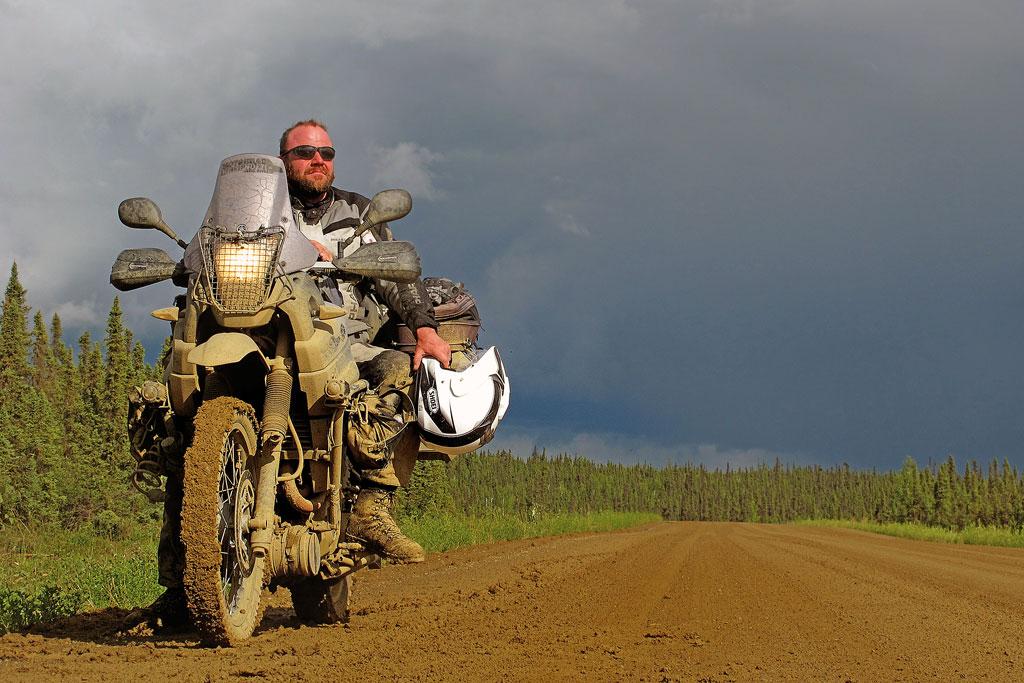 Motorradreise Alaska - © Erik Peters, www.motorradreisender.de
