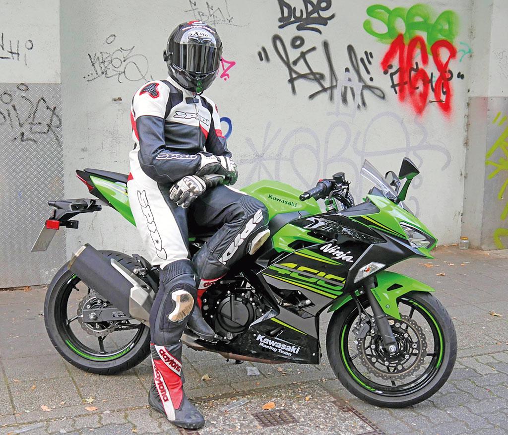 Lederkombi SPIDI Race Warrior