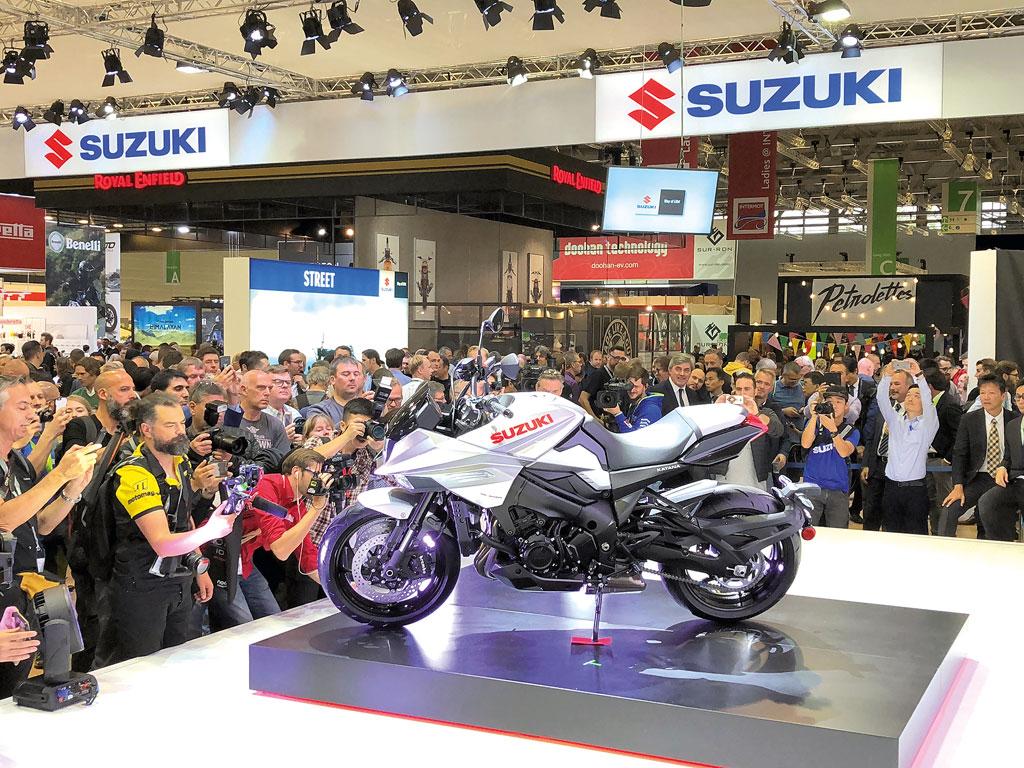 Suzuki Katana Präsentation - INTERMOT 2018