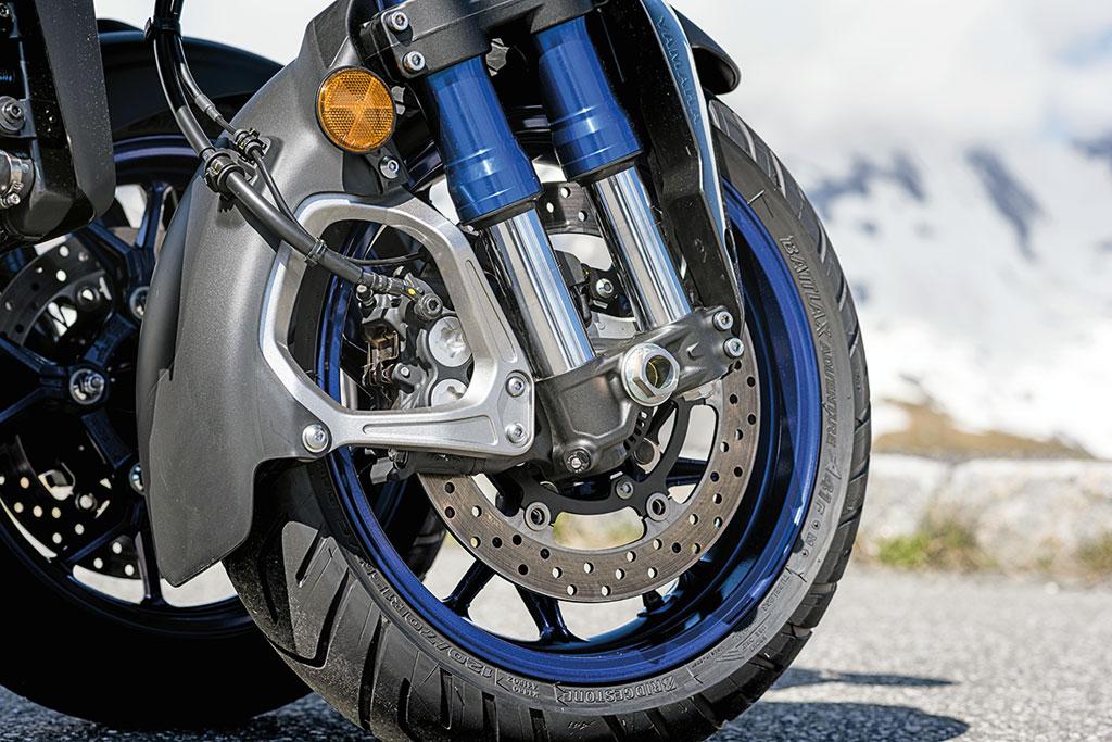 Vorderradbremse Yamaha Niken, Modell 2018