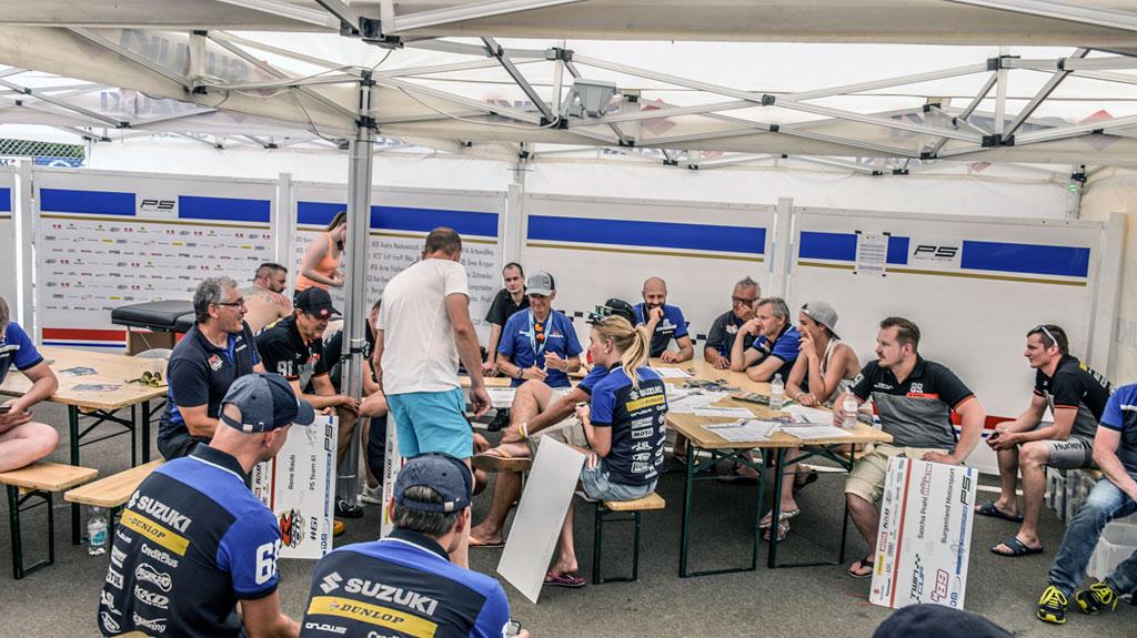 Timm Dettmers Twin Cup - Fahrerbesprechung