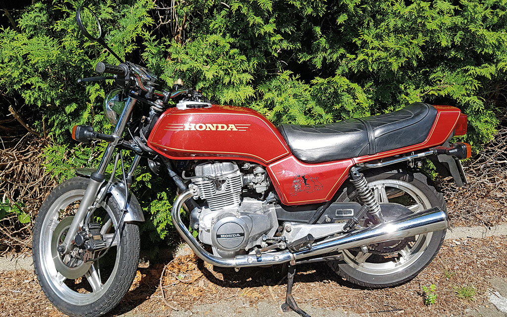 Irenes Honda CB 250 N