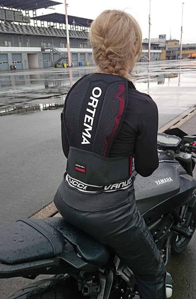Mein Ortema-Rückenschutz