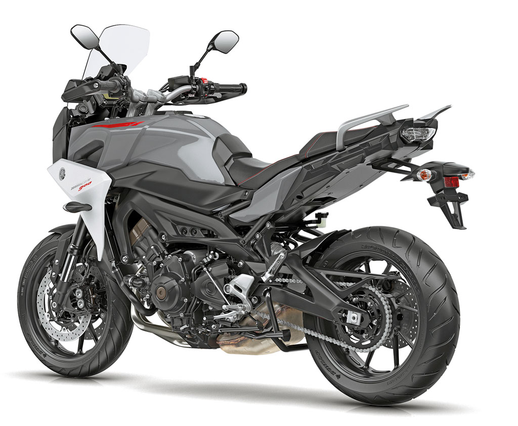 Heck - Yamaha Tracer 900 / Tracer 900 GT, Modell 2018