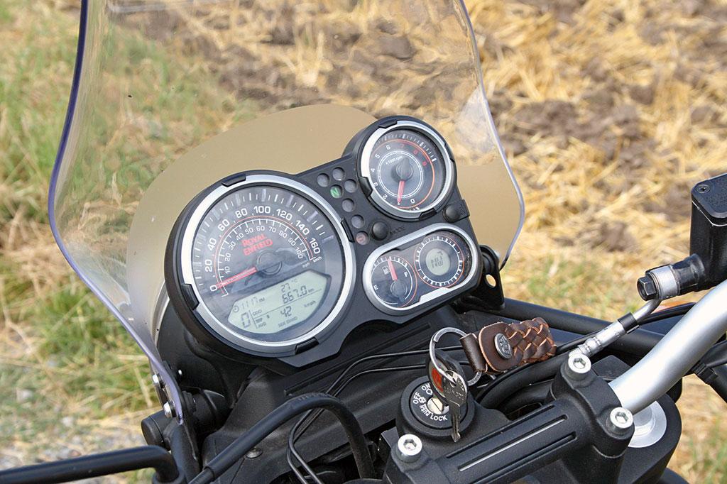 Cockpit - Royal Enfield Himalayan, Modell 2018