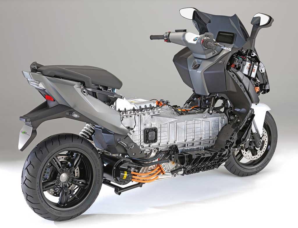 BMW C evolution - alles anders unter der Verkleidung