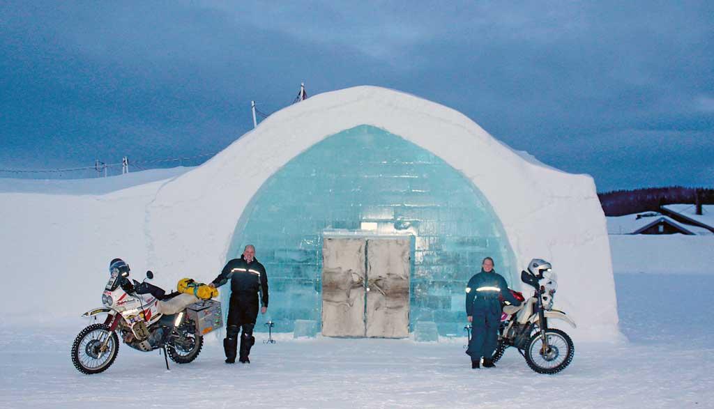 Eisreise - eine eiskalte Hochzeitsreise