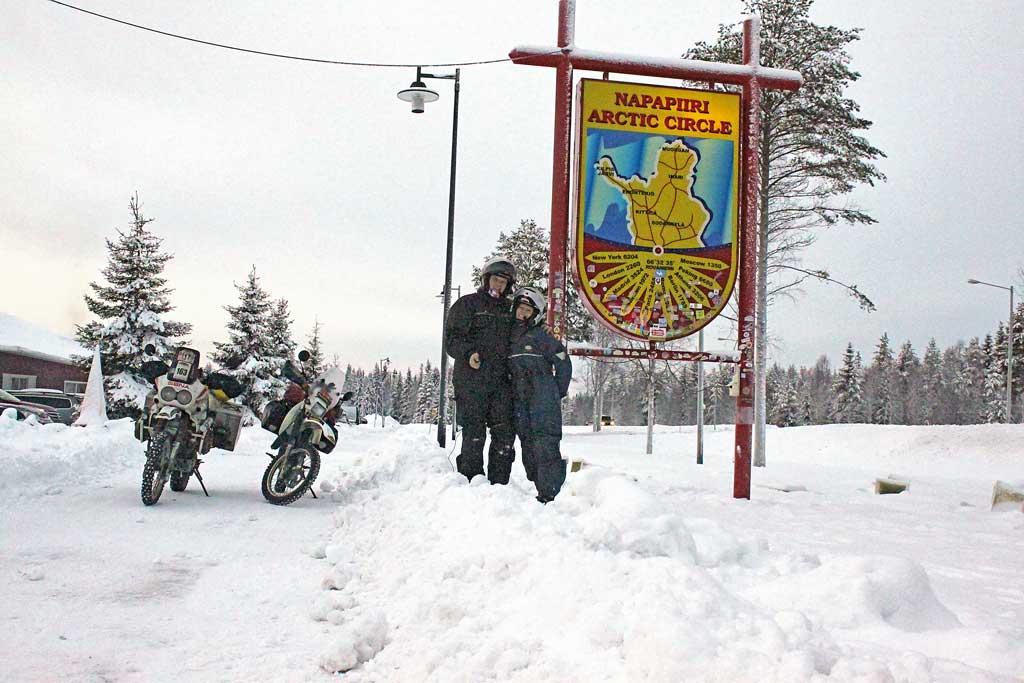 Eisreise - am Nordpolarkreis