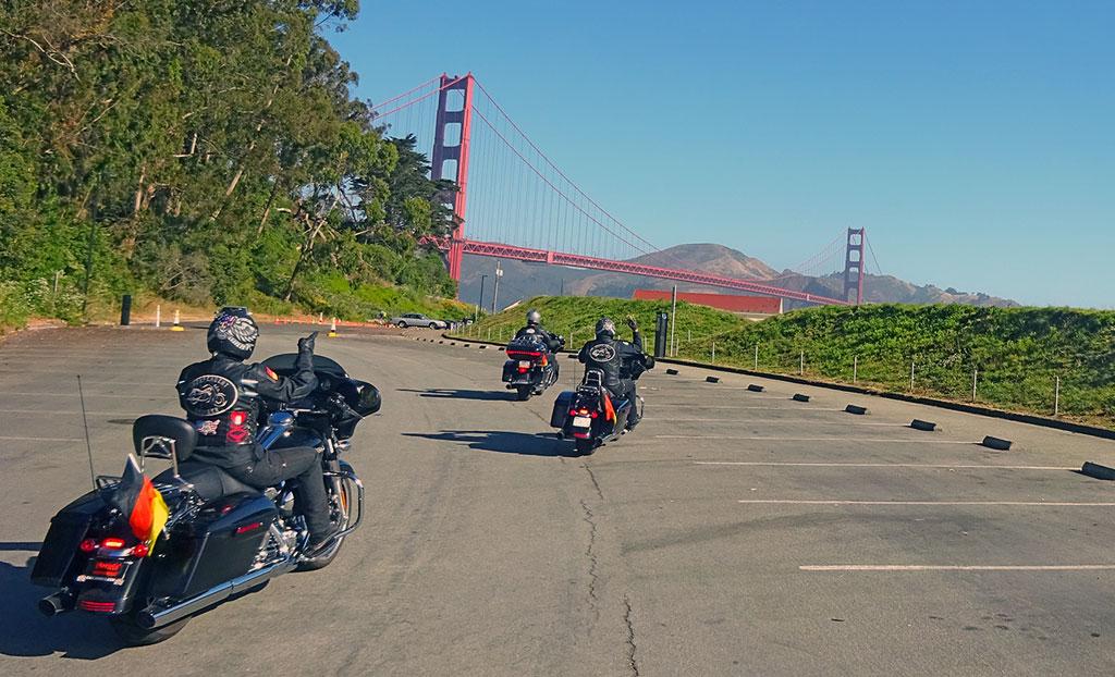 Die Golden Gate Bridge - USA - Wilder Westen