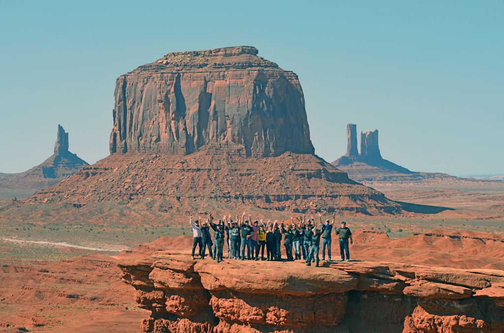 USA - Wilder Westen Monument-Valley