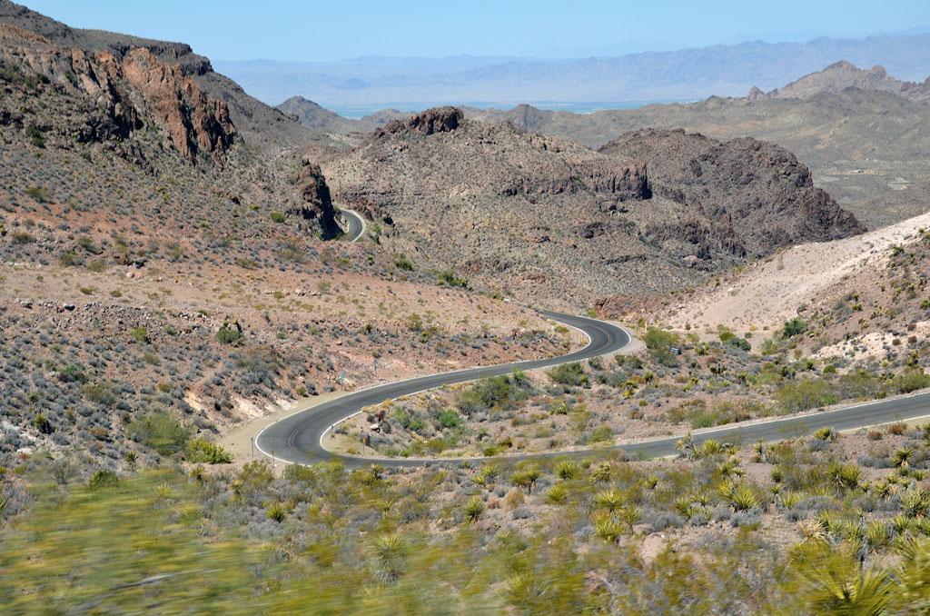 Der verschlungene Sitgreaves-Pass - USA - Wilder Westen