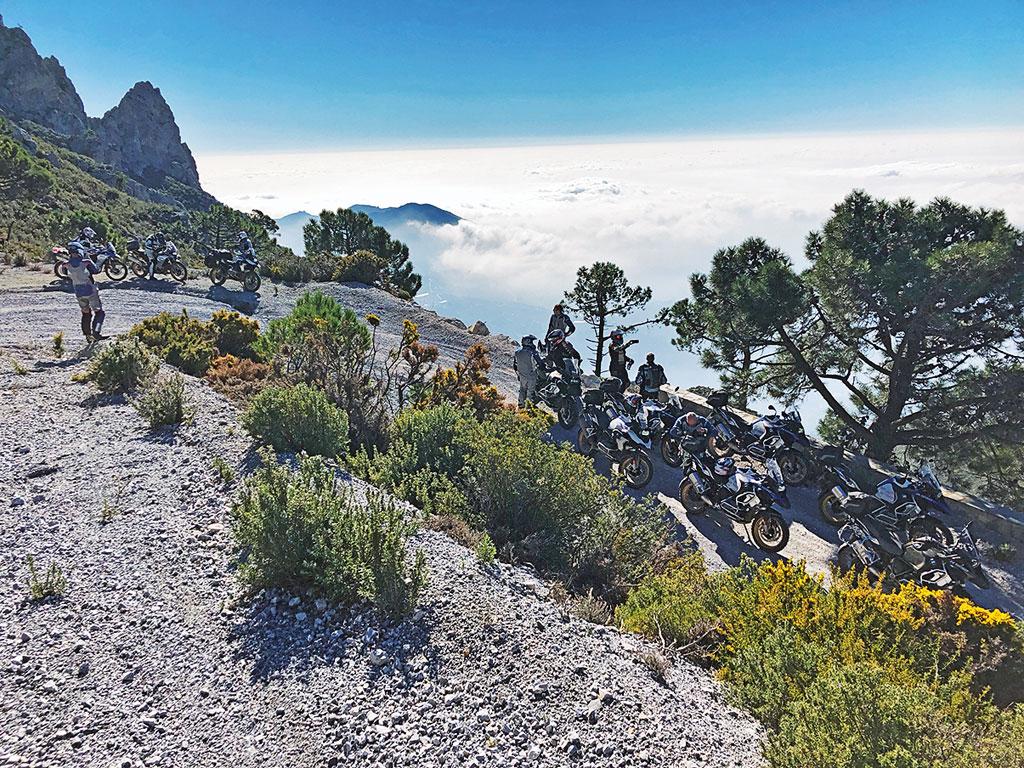 Über die Berge mit der BMW R 1250 GS Adventure, Modell 2019