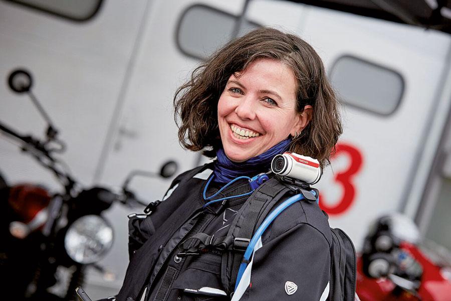 Julia Kaltenberg, www.maedchenmotorrad.de - Foto: www.Motorrausch.de
