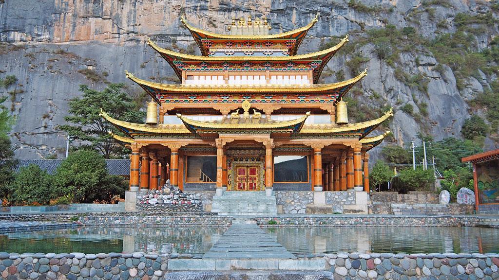 Tempel in Qizong