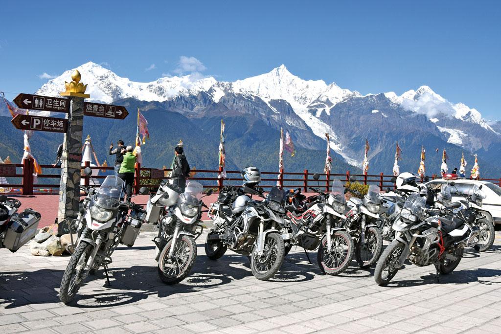 Motorrad-Gruppenreise Yunann, China