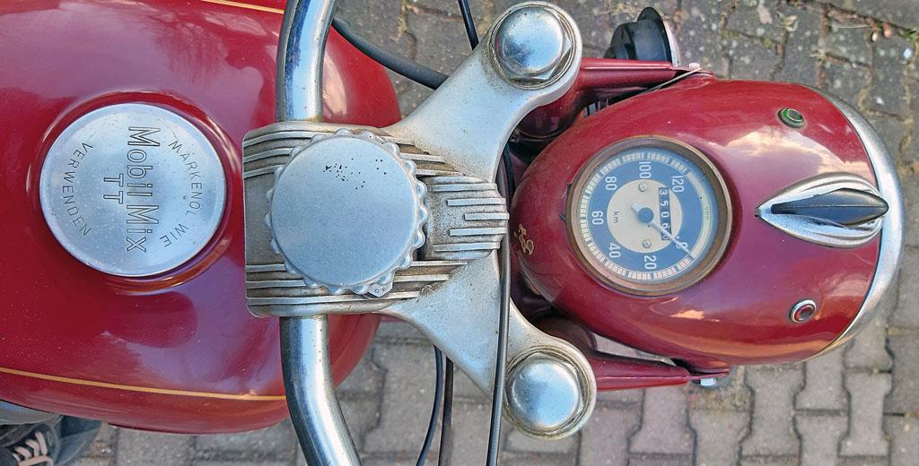 Cockpit Triumph BDG 250 Bj. 1957