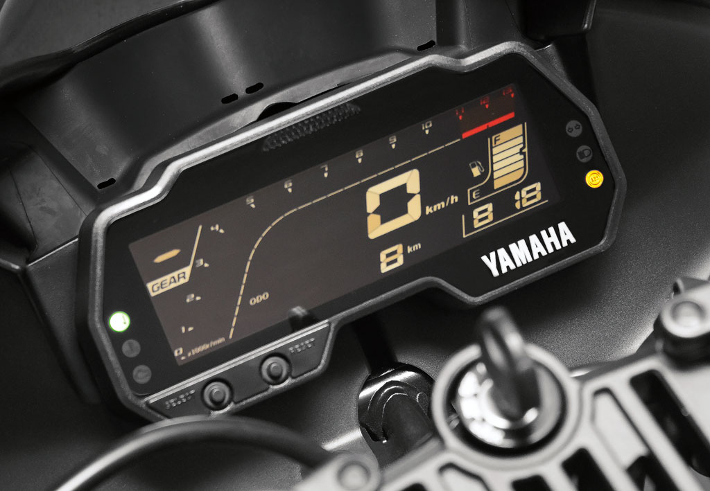 Cockpit Yamaha YZF-R3 Modell 2019