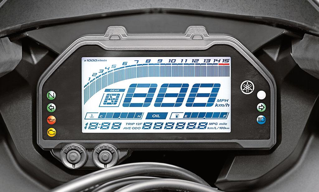Cockpit Yamaha YZF-R125 Modell 2019