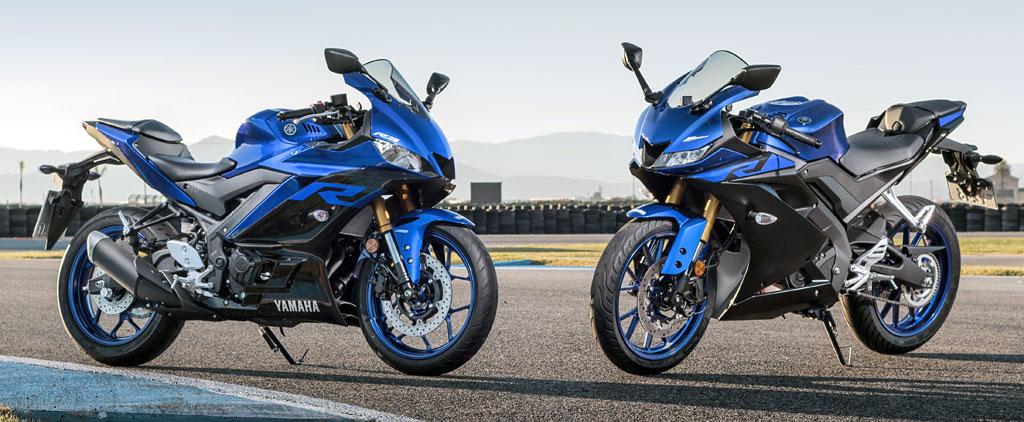 Yamaha YZF-R3 und YZF-R125, Modell 2019