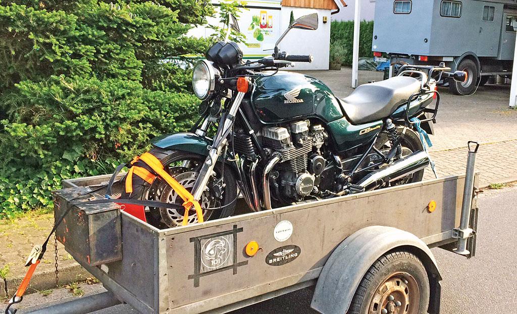 Ausgangsbasis: Honda CB Sevenfifty Roadster-Umbau