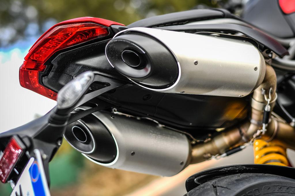 Ducati Hypermotard 950 - Modell 2019 - Auspuffanlage