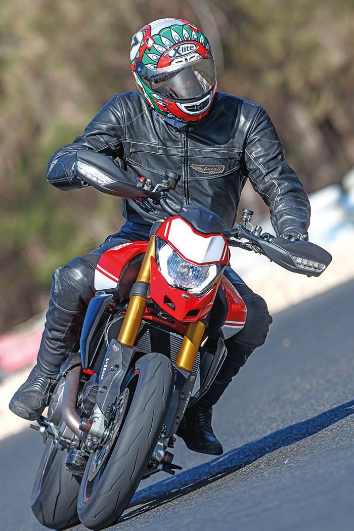 Ducati Hypermotard 950SP - Modell 2019 - Front