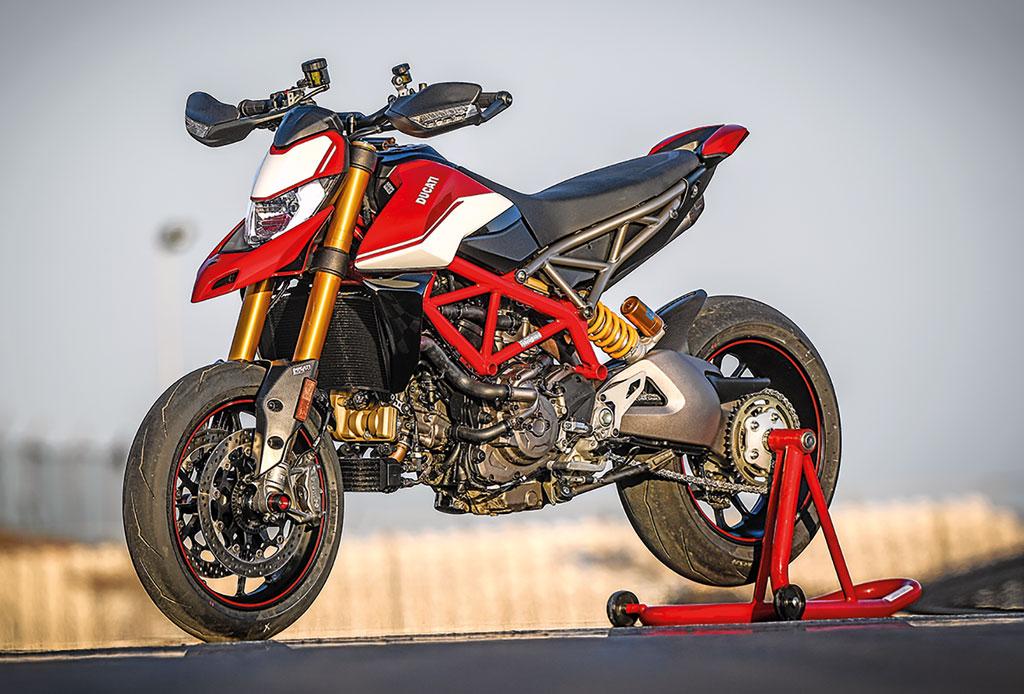 Ducati Hypermotard 950SP - Modell 2019 - links