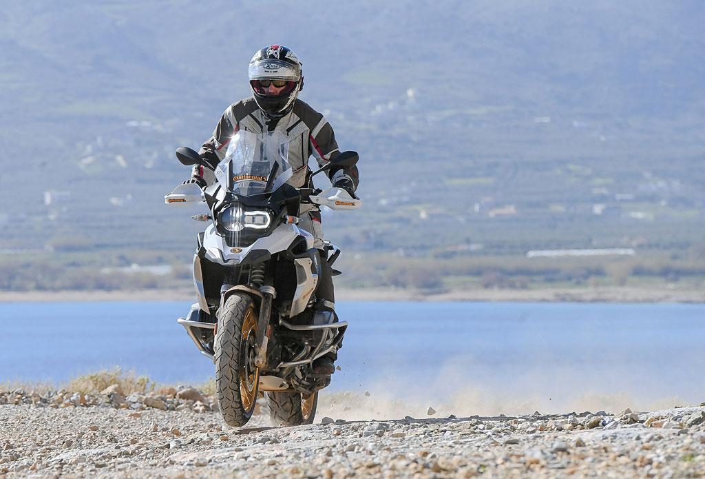 Präsentation des Continental TrailAttack3 auf Kreta