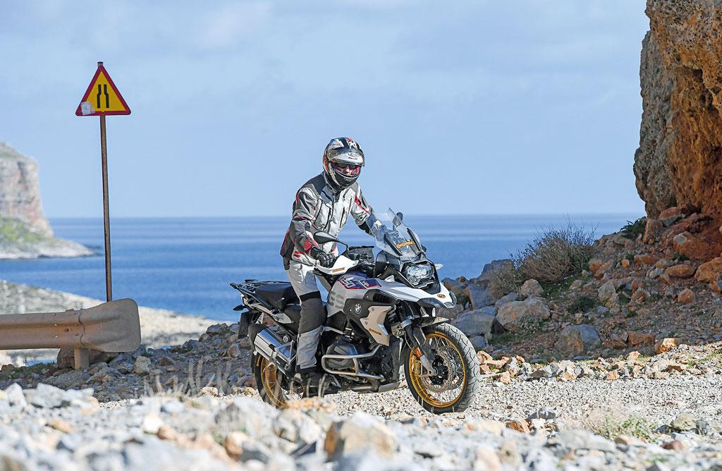 Schozttertour - Präsentation des Continental TrailAttack3 auf Kreta