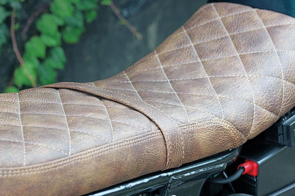 Sitzbank - Honda CB Sevenfifty Roadster-Umbau
