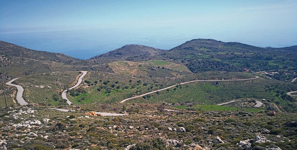 Tolle Kurven auf Kreta
