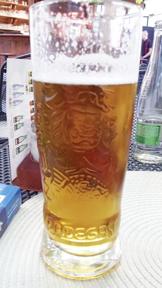 Bier und Slibowitz