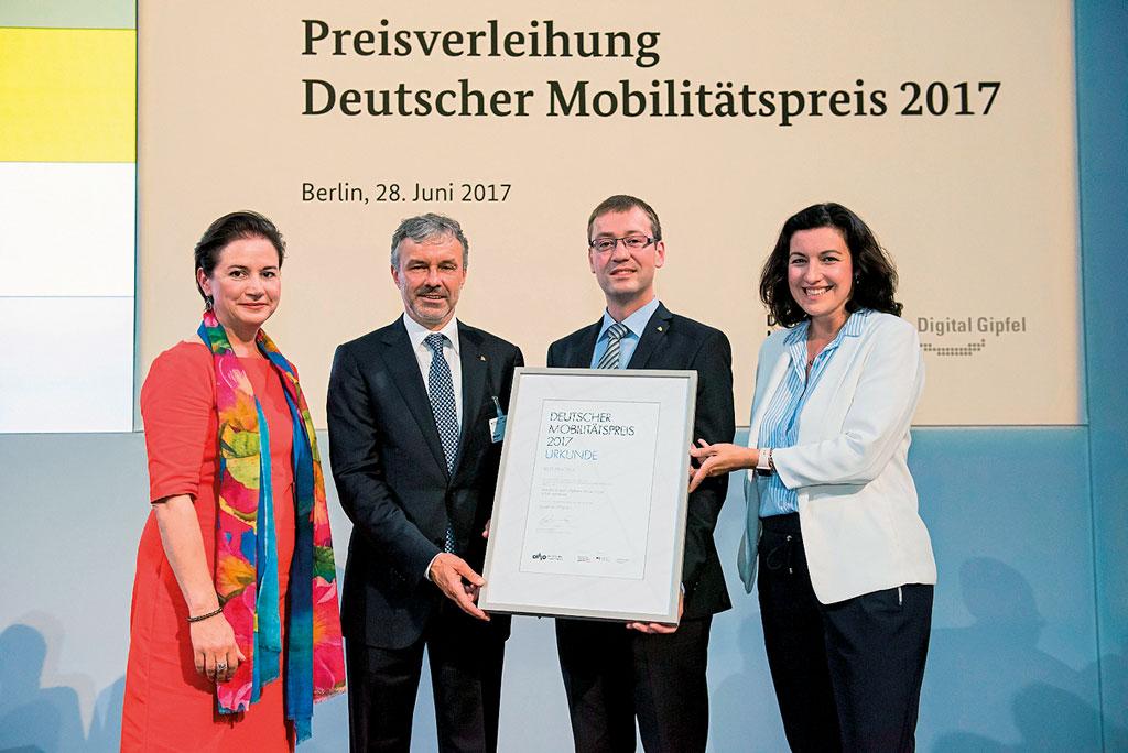 Deutscher Mobilitatspreis 2017 Preisverleihung - Foto von Bernd Brundert