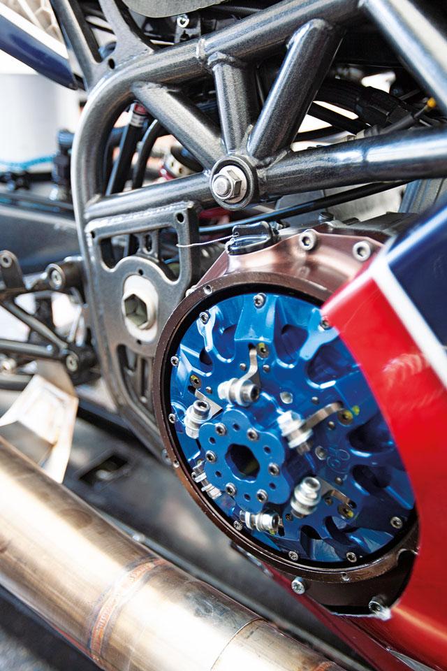 Super-Street-Bikes - Gitterrrohrrahmen bei Steve Venables Bike