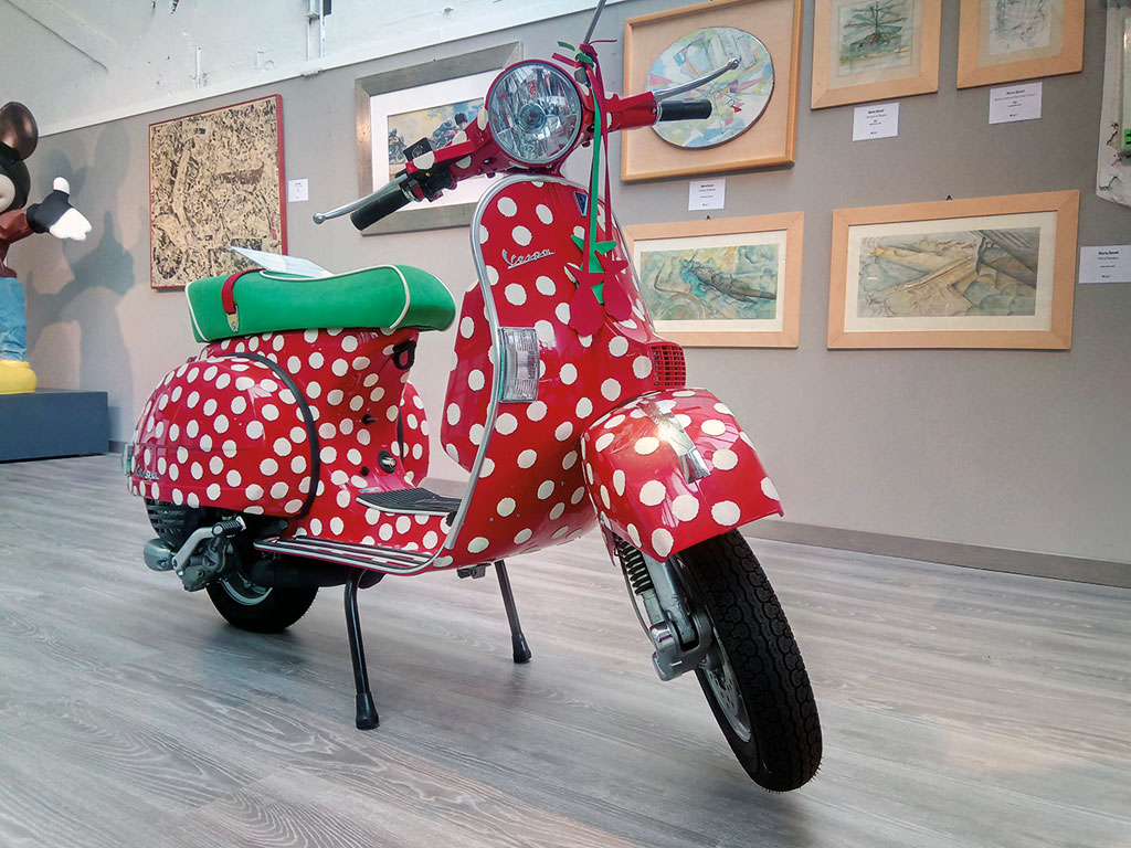 Vespa im Piaggio Museum