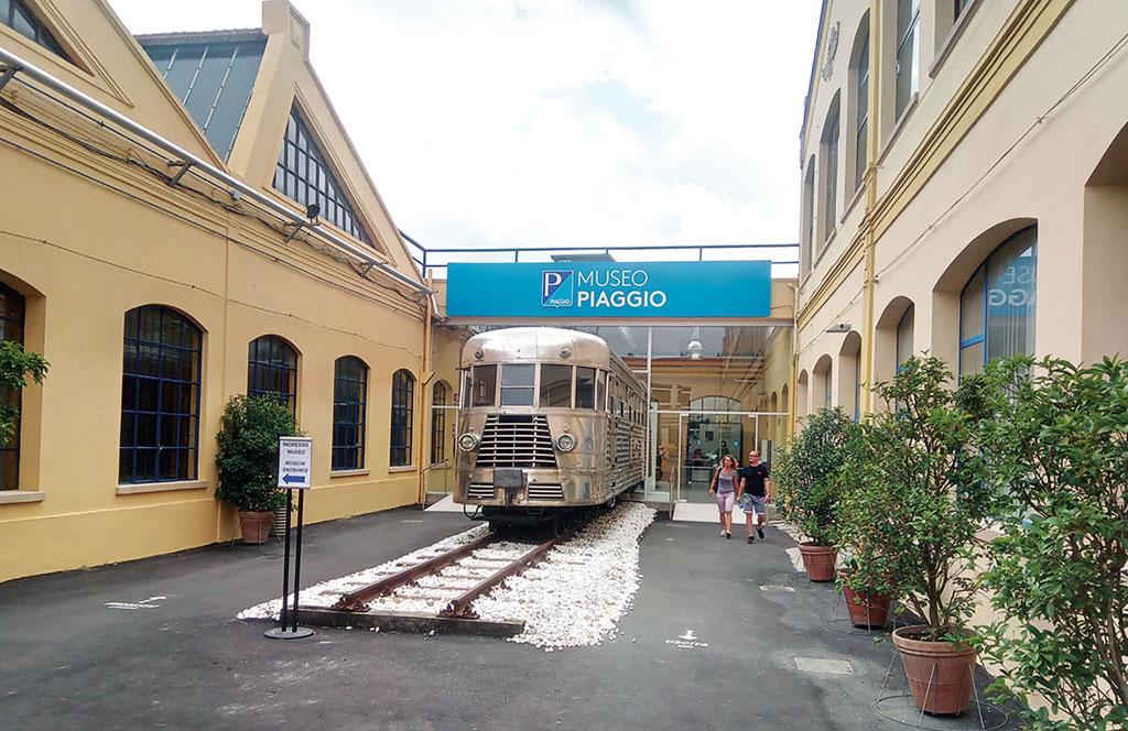Piaggio Museum in Pontedera