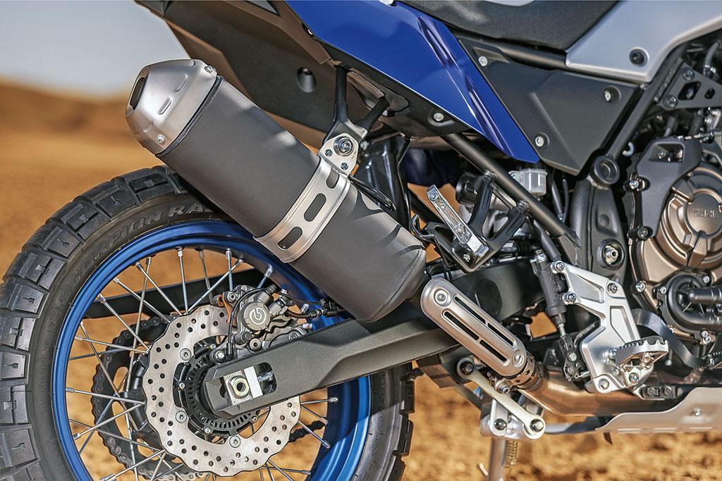 Auspuff - Yamaha 700 Tenere Modell 2019