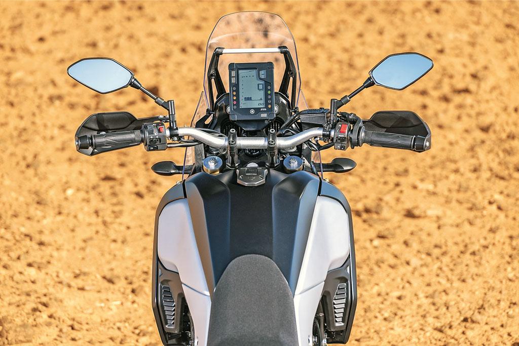 Cockpit - Yamaha 700 Tenere Modell 2019