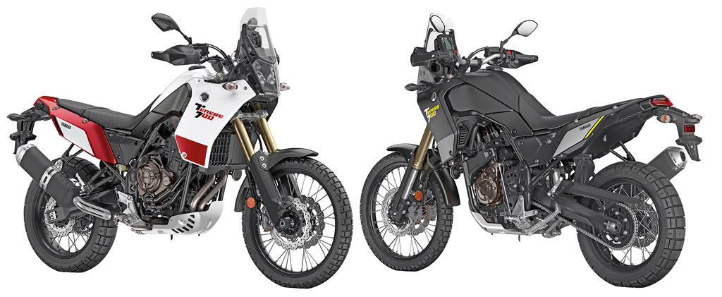 Weitere Farben - Yamaha 700 Tenere Modell 2019