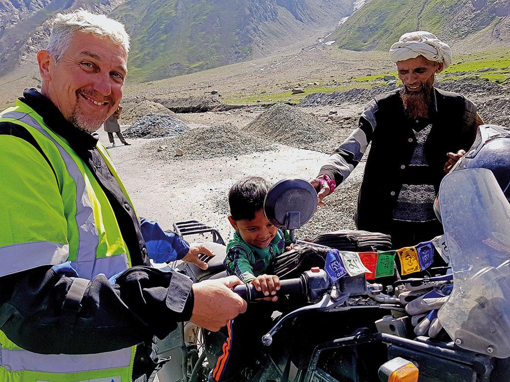 Begegnung - Gruppenreise Indien / Himalaya mit Royal Enfield Motorrädern