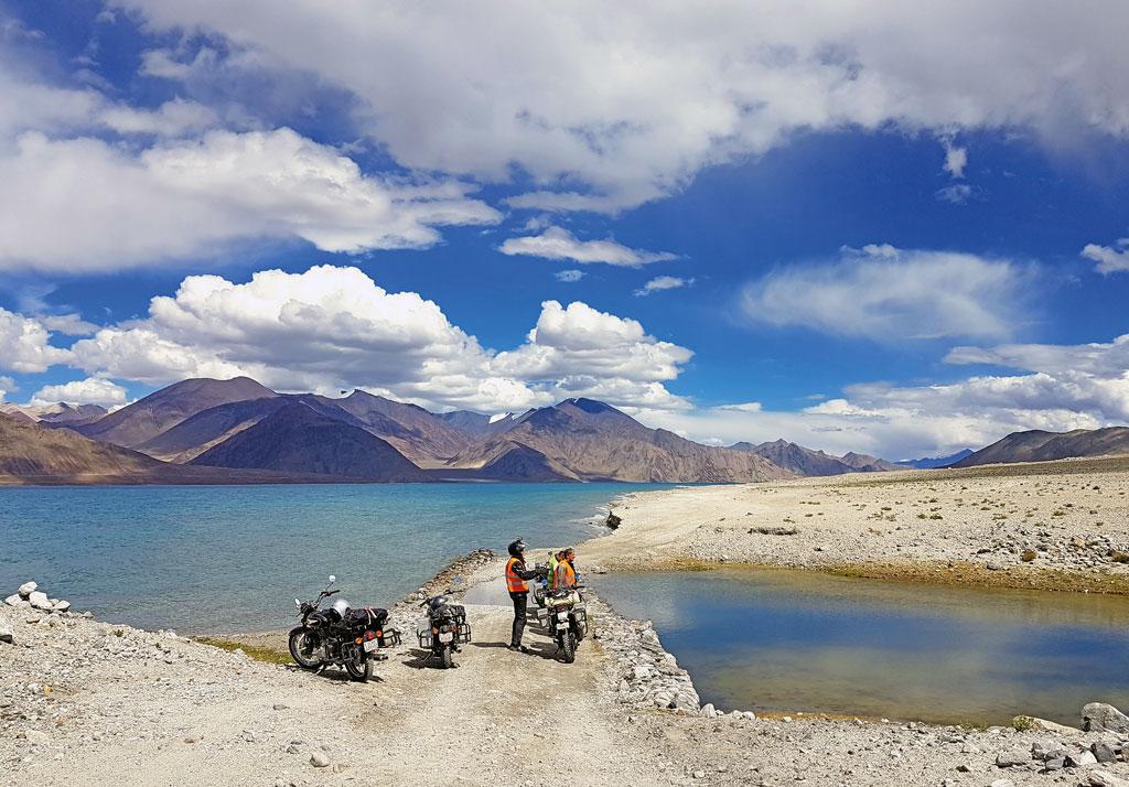 Weites Land - Gruppenreise Indien / Himalaya mit Royal Enfield Motorrädern