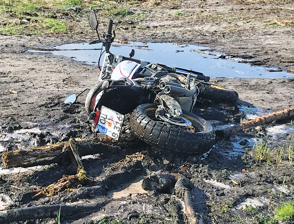 Rettung aus dem Schlammloch: Ducati Scrambler Desert Sled