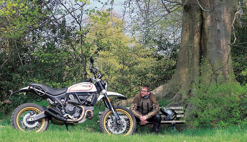 Tolles Motorrad: Ducati Scrambler Desert Sled Modell 2017