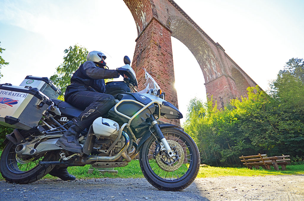 Himbächel Viadukt im Odenwald