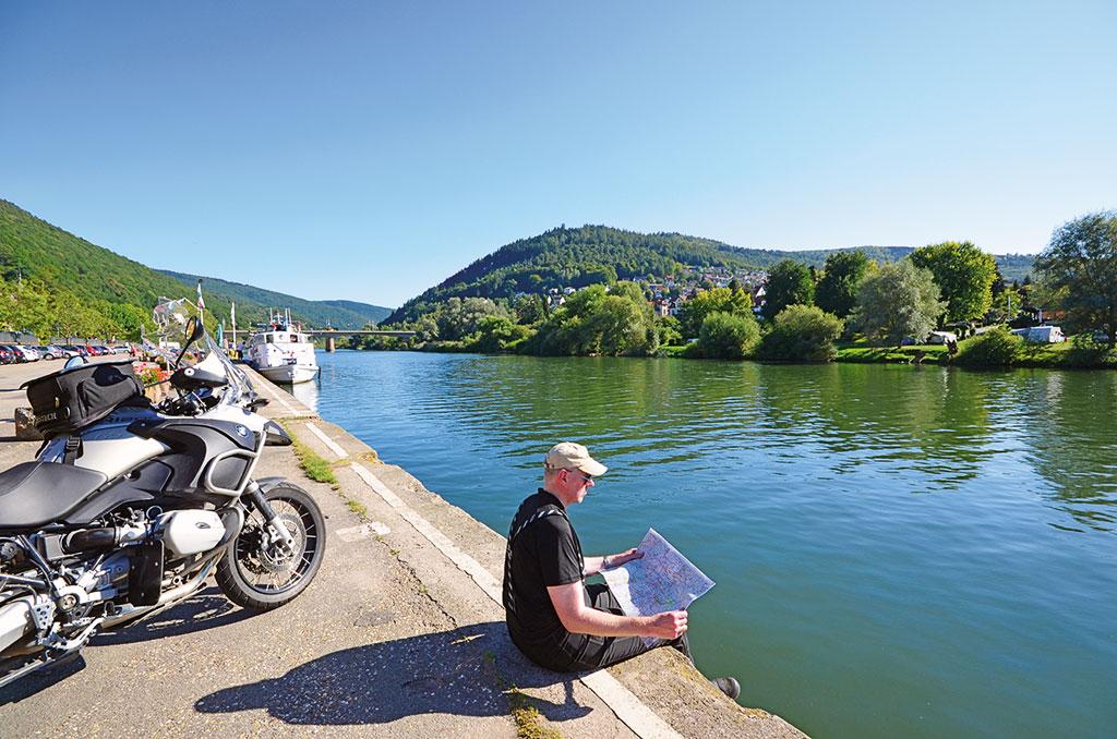 Tourplanung am Neckar