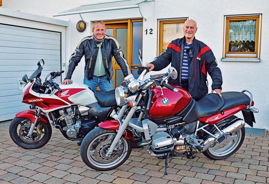 Wilhelm und Max auf Tour