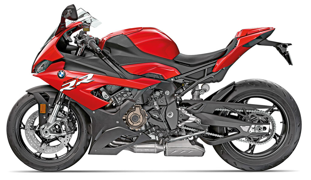 BMW S 1000 RR, Modell 2019, racing-red