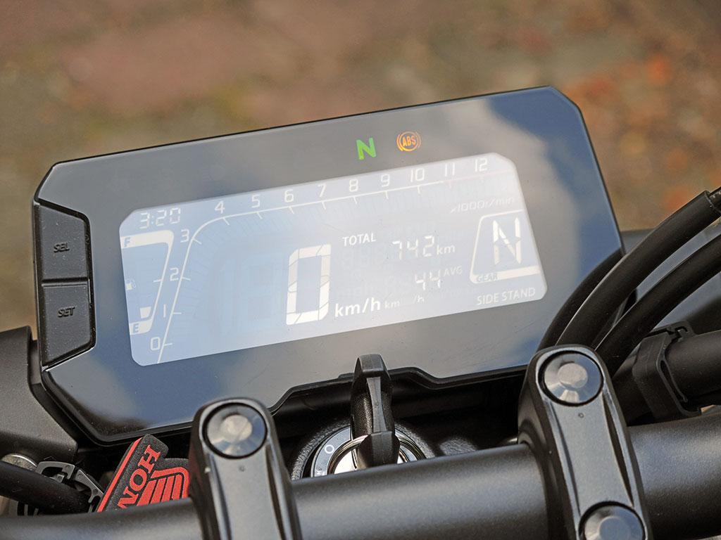 Cockpit, Honda CB 125 R Neo Sports Cafe - Modell 2019