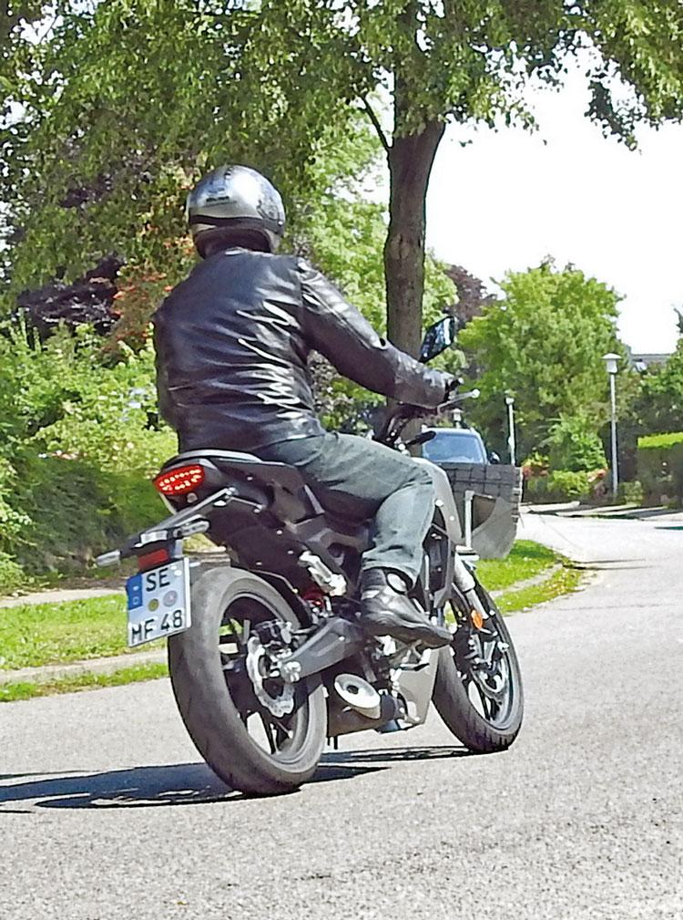Heck, Honda CB 125 R Neo Sports Cafe - Modell 2019