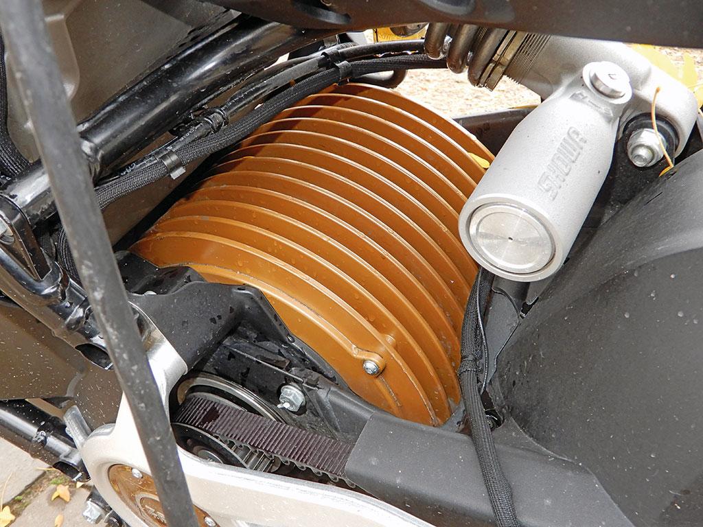 Luftgekühlter Motor der Zero SR/F, Modell 2019